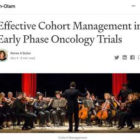 Pharm-Olam: Effective Cohort Management in Early Phase Oncology Trials